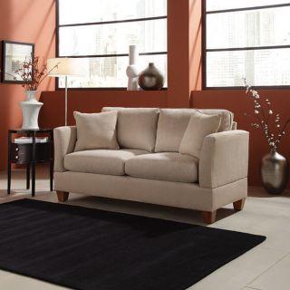 Simplicity Sofas 68 inch Microfiber Small Space Sofa