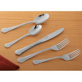 Mikasa Providence 65 piece Flatware Set with Caddy