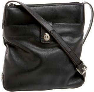 Chic Paola Messenger 9070BH BLK01 Crossbody Bag,Black,One Size Shoes