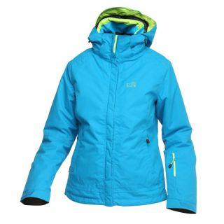 Modèle Cooper   Coloris : turquoise et anis. Veste de ski Dry Edge