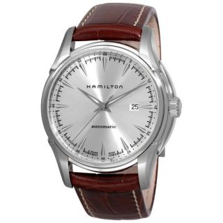 Hamilton Mens Jazzmaster Viewmatic Brown Strap Automatic Watch