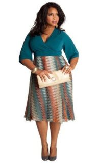 IGIGI by Yuliya Raquel Plus Size Katie Dress: Yuliya
