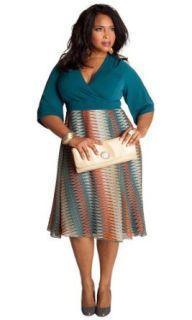 IGIGI by Yuliya Raquel Plus Size Katie Dress: Yuliya