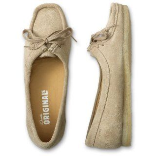 Clarks Wallabee Shoe for Women 7 Sand: Shoes