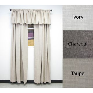 Brielle Home Seacoast Window Panel or Optional Valance