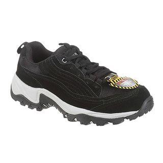 AdTec Mens Black Steel toed Work/ Hiker Boots