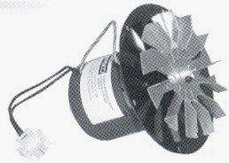 Pellet Stove Blower Motor, 1/14hp, 3000RPM, 0.6 amps. 115 Volt Rotom