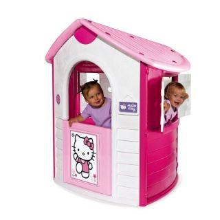 Smoby   Cottage Hello Kitty   2 fenêtres avec volets   Lucarne à l