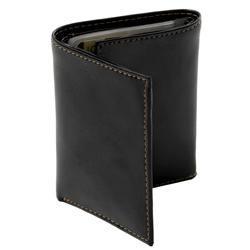 Joe by Joseph Abboud Mens Leather Tri fold Wallet