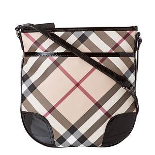 Burberry 3800998 Small Nova Check Crossbody Bag