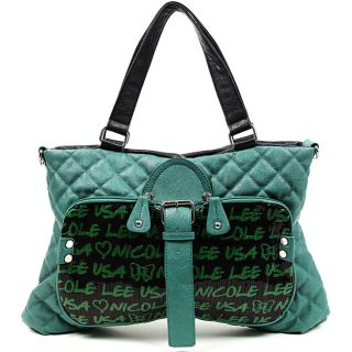 Nicole Lee Audrina Sequined Quilted Shopper Bag Today $54.99 Sale $