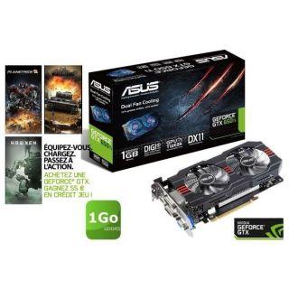 Carte graphique Nvidia GTX 650 Ti   GPU cadencé à 993MHz   Mémoire
