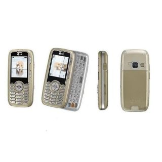 LG Rumor LX260 Champagne Cricket Cell Phone (Refurbished)