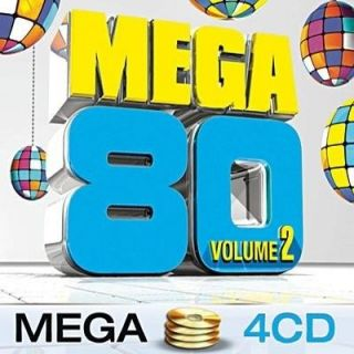 MEGA 80 VOL 2 – Compilation – Coffret 4 CD   Achat CD COMPILATION