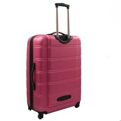 Rockland Melbourne 3 piece Expandable Hardside Spinner Luggage Set