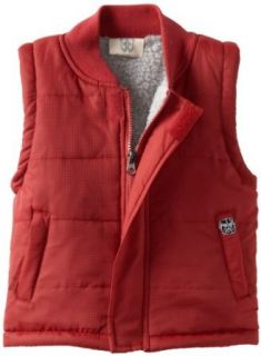 Wes and Willy Boys 2 7 Vest With Polar Fleece Lining