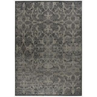 Graphic Illusions Moasic Grey Rug (79 x 1010)