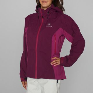 Arcteryx Womens Beta AR Magenta Ski Jacket