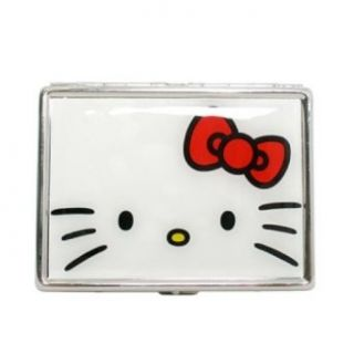 Hello Kitty Sanrio Red Bow ID Stash Business Card Holder