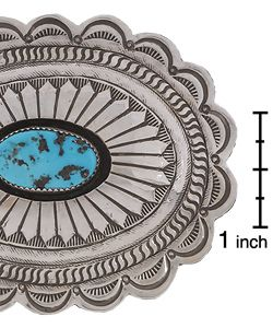 Shadow Box Belt Buckle (Native American)
