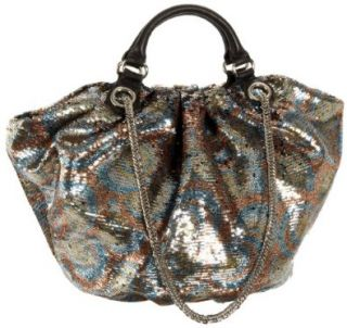 Wendy Ayelen Large Double Face Sequin Tote,Multi,one size Shoes