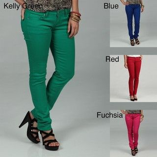 51 Juniors Colored Skinny Jeans FINAL SALE