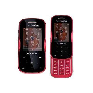 Samsung Trance Verizon Red Cell Phone (Refurbished)