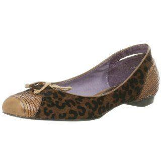 Luna Rosa Womens Brave Hair Calf Flat,Natural,6.5 M: Shoes