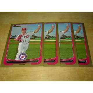 Bowman Gold Gio Gonzalez Washington Nationals #133 Everything Else