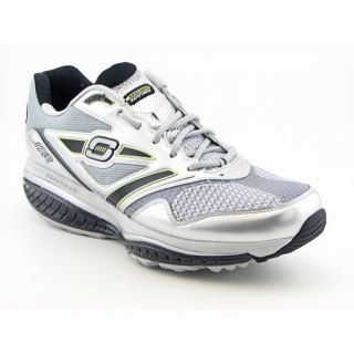 Skechers Shape Ups Mens Defiance Dare Silver/Black Running Shoes