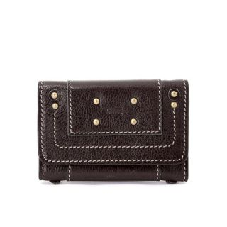 Chloe Womens Leather Tri fold Key Case