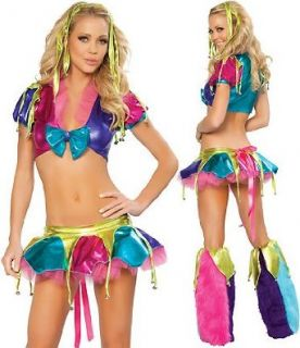 Mardi Gras Jester Costume Clothing