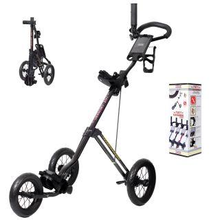 Cadie GT Cruiser 3 wheel Golf Push Cart