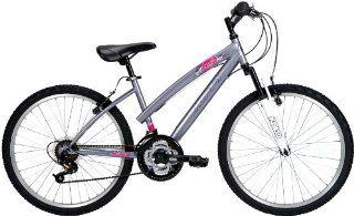 Huffy 24 Inch Girls ATB Rival Bike (Purple Slate Metallic