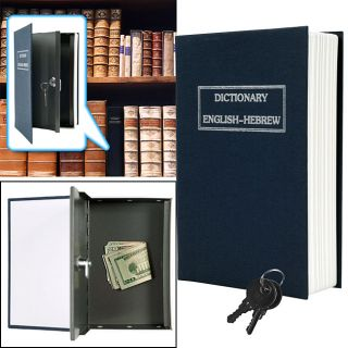 Dictionary Diversion Book Safe with Key Lock Set of 2 Today $30.99 4