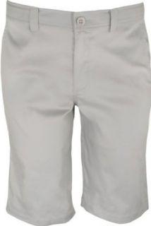 NIKE Boys Dri FIT Golf Shorts, Granite/Black, X Large