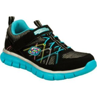 Girls Skechers Sporty Shorty Synergy Aerials Black/Multi