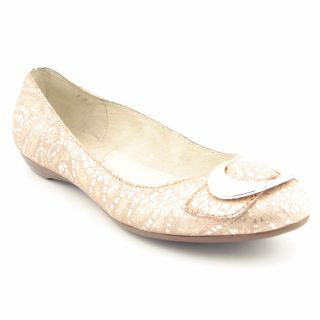 Dr. Scholls Habit Womens Gold Flat Shoes (Size 5.5)