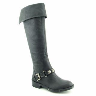 Kensie Girl Womens Gianno Black Knee High Boots