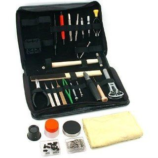 137Pc Watch Movement Holder Case Knife Screwdriver Tool: Watches