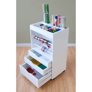 Studio Designs White Wrapping Cart Today $155.07