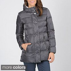 Vince Camuto Womens Zip Front Down Coat with Hood Today $159.99