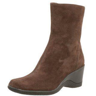 AK Anne Klein Womens Norvell,Dk Brown Nubuck,7 M Shoes