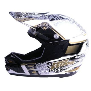 No Fear Casque Cross Interceptor Victory Gold   Achat / Vente CASQUE