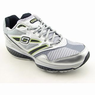 Skechers Mens Shape Ups Defiance Dare Silver/Black Running Shoes