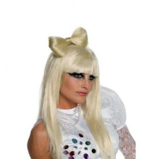 Lady Gaga Blonde Hair Bow Clip Clothing