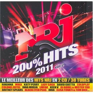NRJ 200% HITS 2011 VOL 2   Compilation   Achat CD COMPILATION pas cher