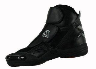Vega Merge Mens Motorcycle Boots (Black, Size 12)