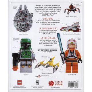 LEGO STAR WARS ; LENCYCLOPEDIE ILLUSTREE   Achat / Vente livre