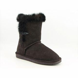 Bearpaw Mackenzie Womens Brown Chocolate Winter Boots